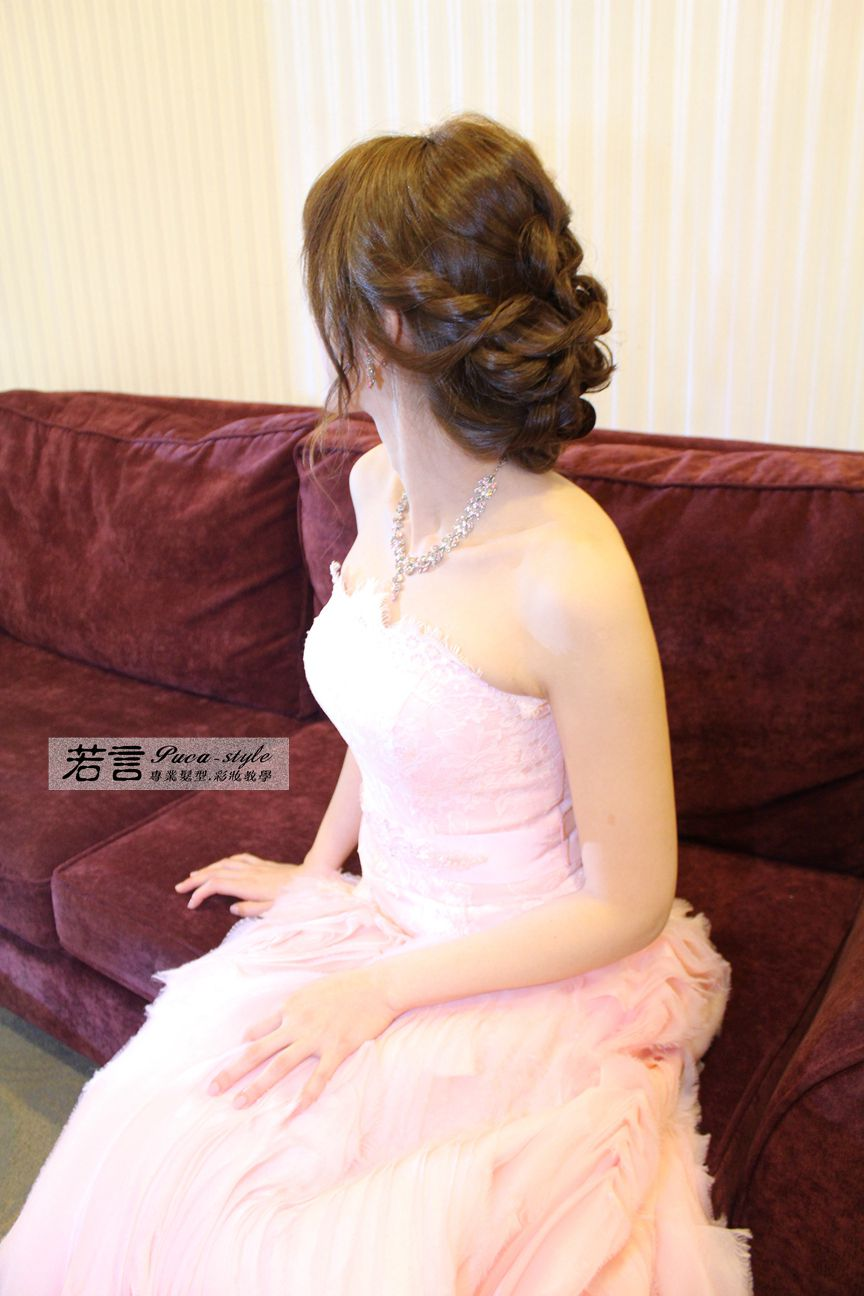 南臺灣新娘秘書韓式(噴槍)新秘團隊(編號:194456) - 若言新娘秘書韓式妝髮 - 結婚吧