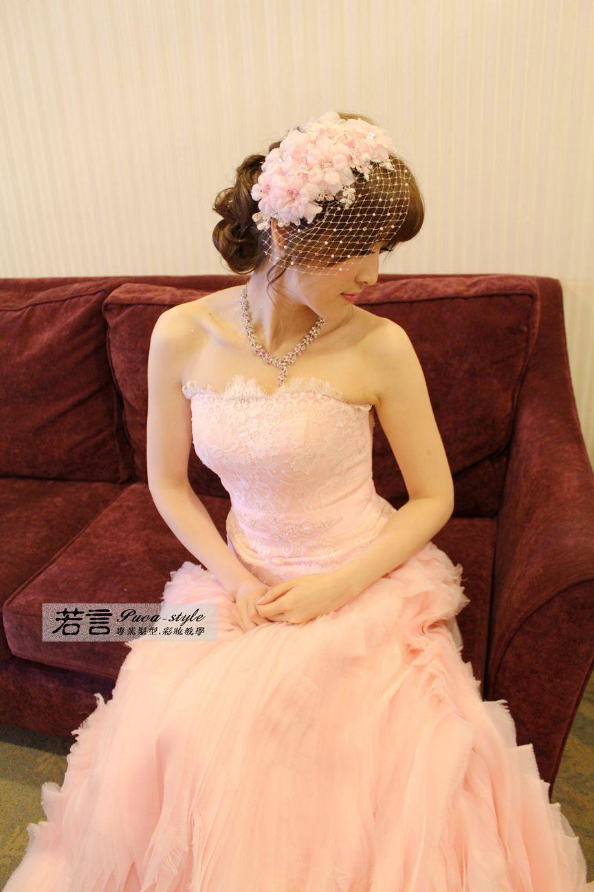 南臺灣新娘秘書韓式(噴槍)新秘團隊(編號:194458) - 若言新娘秘書韓式妝髮 - 結婚吧
