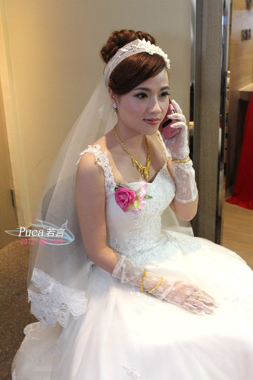 南臺灣新娘秘書韓式(噴槍)新秘團隊(編號:194472) - 若言造型團隊-噴槍底妝/陶瓷妝感 - 結婚吧