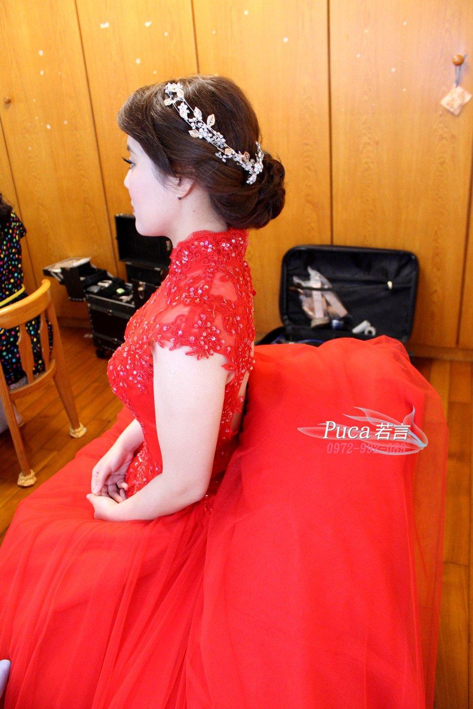 (編號:194480) - 若言新娘秘書韓式妝髮 - 結婚吧一站式婚禮服務平台