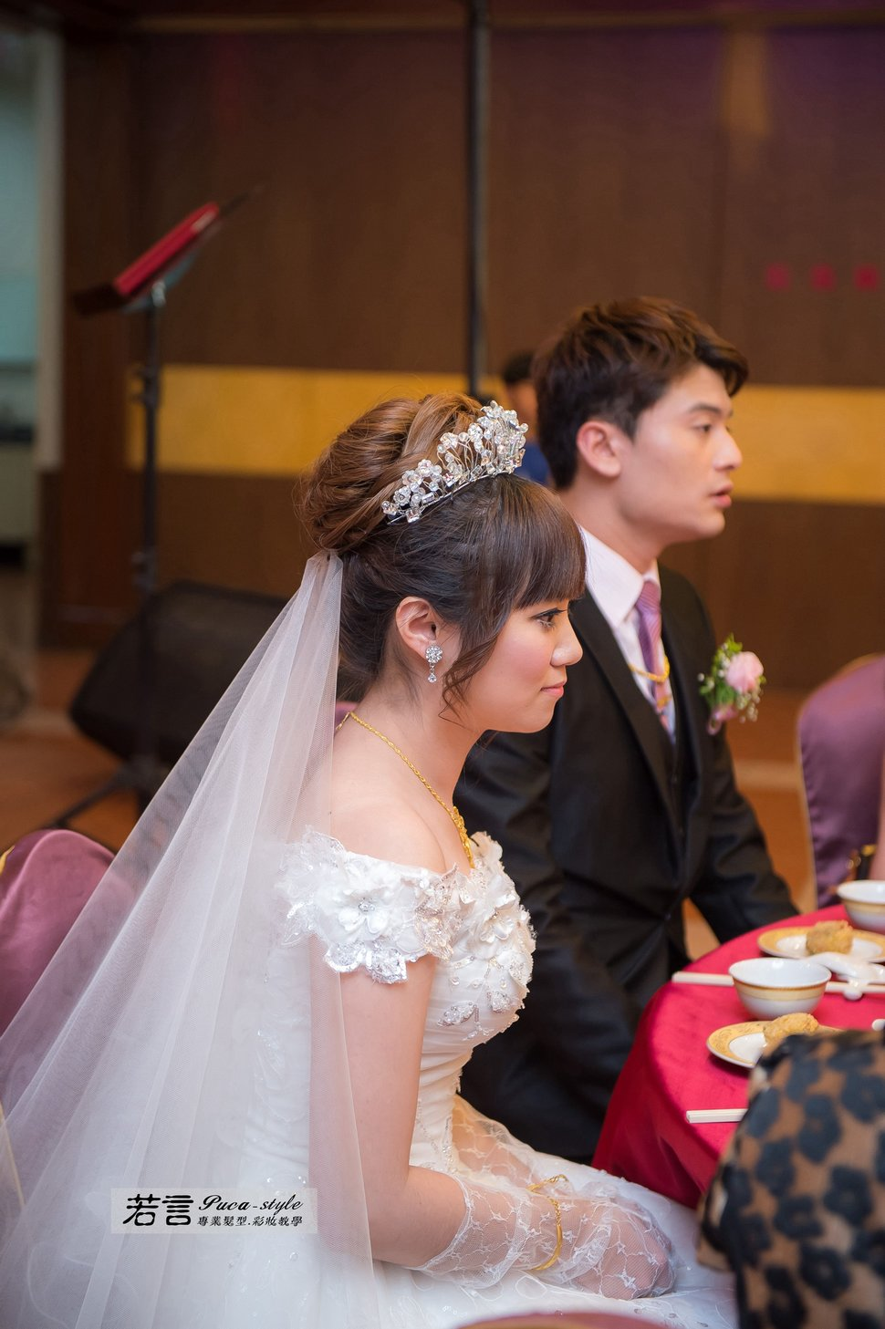 南臺灣新娘秘書韓式(噴槍)新秘團隊(編號:194500) - 若言造型團隊-噴槍底妝/陶瓷妝感 - 結婚吧