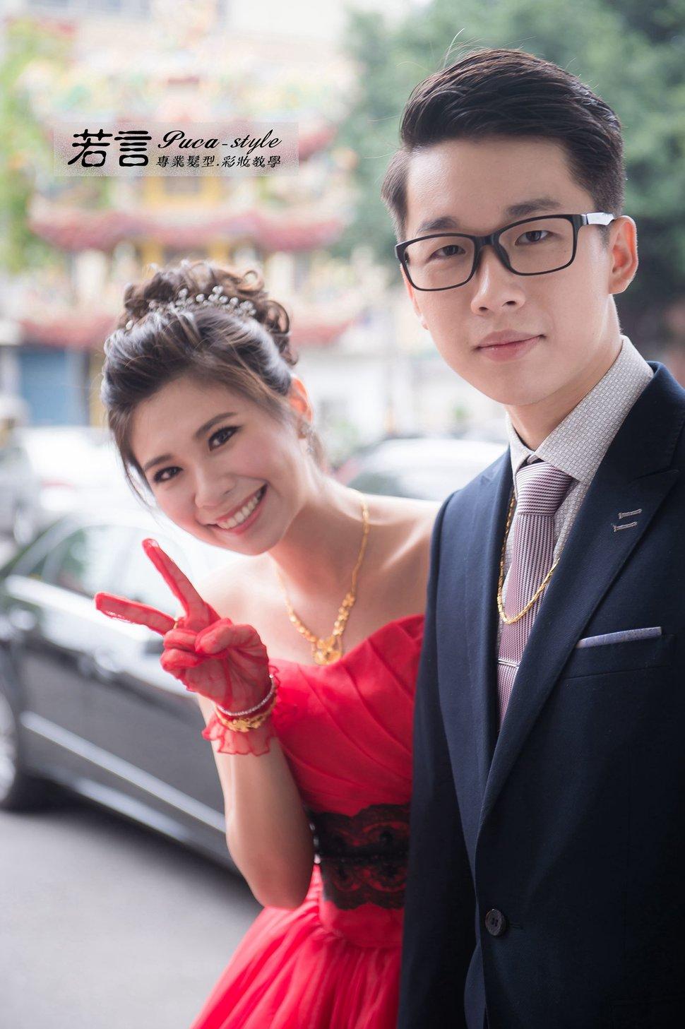 南臺灣新娘秘書韓式(噴槍)新秘團隊(編號:194506) - 若言造型團隊-噴槍底妝/陶瓷妝感 - 結婚吧