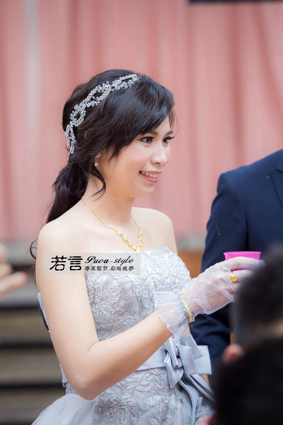 南臺灣新娘秘書韓式(噴槍)新秘團隊(編號:194507) - 若言新娘秘書韓式妝髮 - 結婚吧