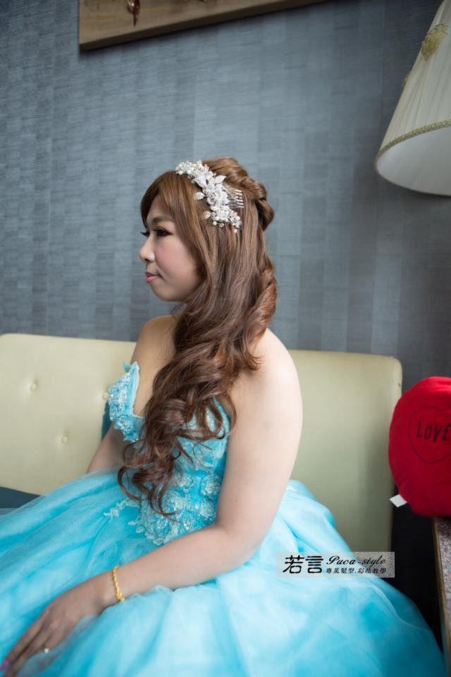 南臺灣新娘秘書韓式(噴槍)新秘團隊(編號:194534) - 若言新娘秘書韓式妝髮 - 結婚吧