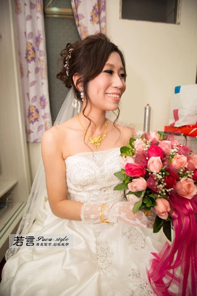 南臺灣新娘秘書韓式(噴槍)新秘團隊(編號:194535) - 若言新娘祕書韓式妝髮/新秘教學創意團隊 - 結婚吧
