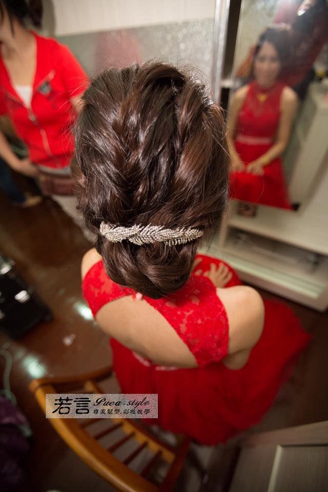 (編號:194536) - 若言新娘秘書韓式妝髮 - 結婚吧
