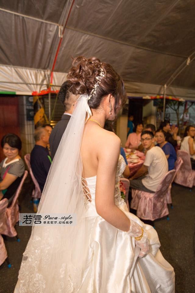 南臺灣新娘秘書韓式(噴槍)新秘團隊(編號:194538) - 若言新娘秘書韓式妝髮 - 結婚吧