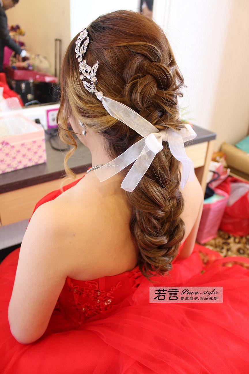 南臺灣新娘秘書韓式(噴槍)新秘團隊(編號:197294) - 若言新娘秘書韓式妝髮 - 結婚吧