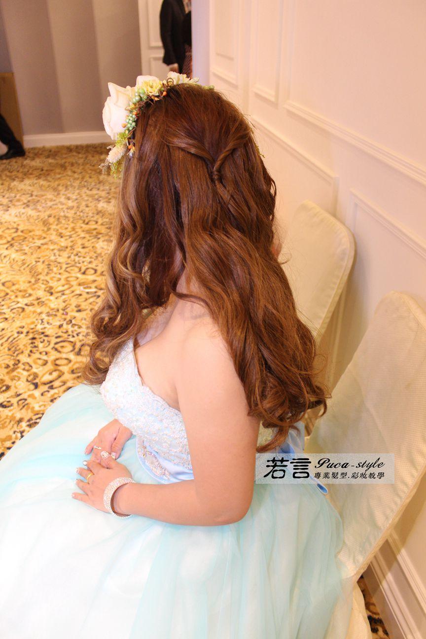 南臺灣新娘秘書韓式(噴槍)新秘團隊(編號:197306) - 若言新娘秘書韓式妝髮 - 結婚吧