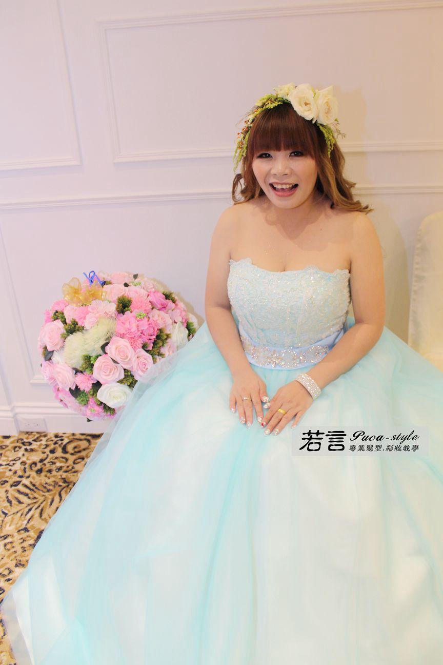 (編號:197307) - 若言新娘秘書韓式妝髮 - 結婚吧