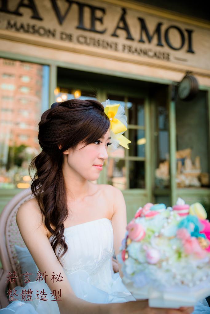 南臺灣新娘秘書韓式(噴槍)新秘團隊(編號:205614) - 若言造型團隊-噴槍底妝/陶瓷妝感 - 結婚吧