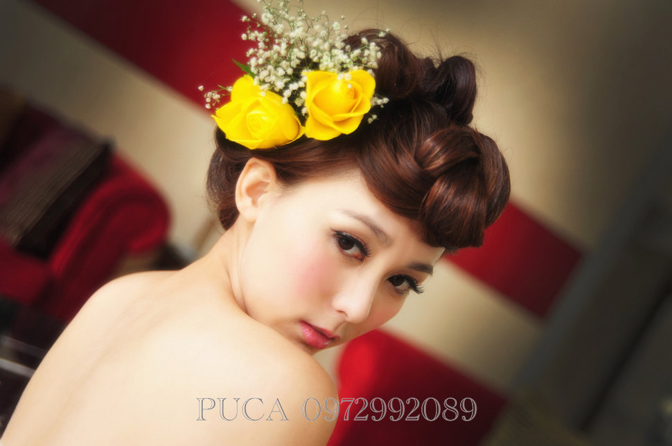 (編號:205630) - 若言新娘秘書韓式妝髮 - 結婚吧