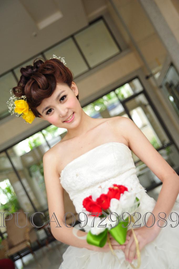 南臺灣新娘秘書韓式(噴槍)新秘團隊(編號:205635) - 若言造型團隊-噴槍底妝/陶瓷妝感 - 結婚吧