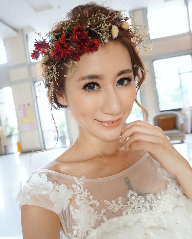 南臺灣新娘秘書韓式(噴槍)新秘團隊(編號:213497) - 若言造型團隊-噴槍底妝/陶瓷妝感 - 結婚吧