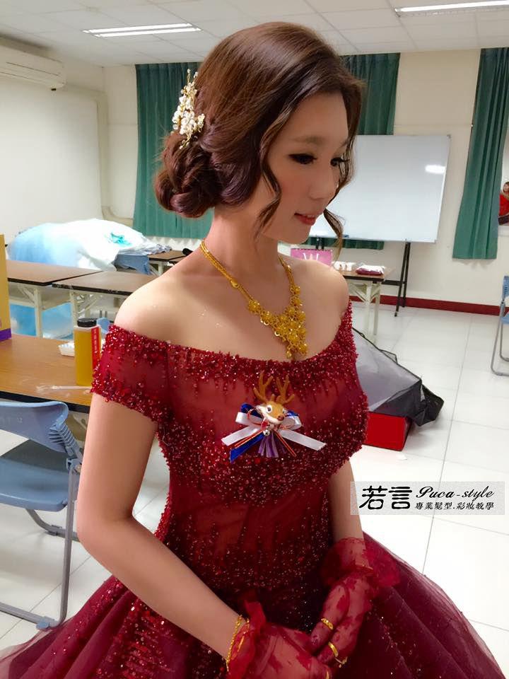 南臺灣新娘秘書韓式(噴槍)新秘團隊(編號:231025) - 若言新娘秘書韓式妝髮 - 結婚吧