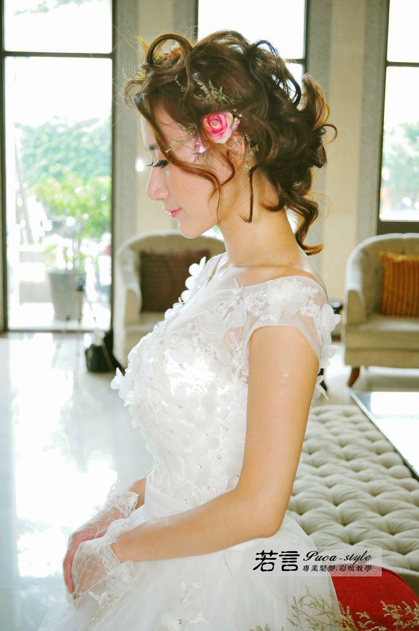 南臺灣新娘秘書韓式(噴槍)新秘團隊(編號:238513) - 若言造型團隊-噴槍底妝/陶瓷妝感 - 結婚吧