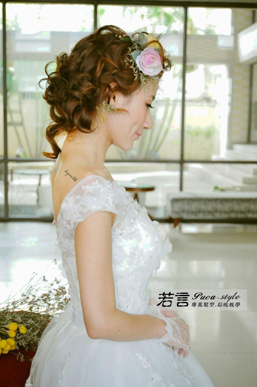 南臺灣新娘秘書韓式(噴槍)新秘團隊(編號:238515) - 若言新娘秘書韓式妝髮 - 結婚吧