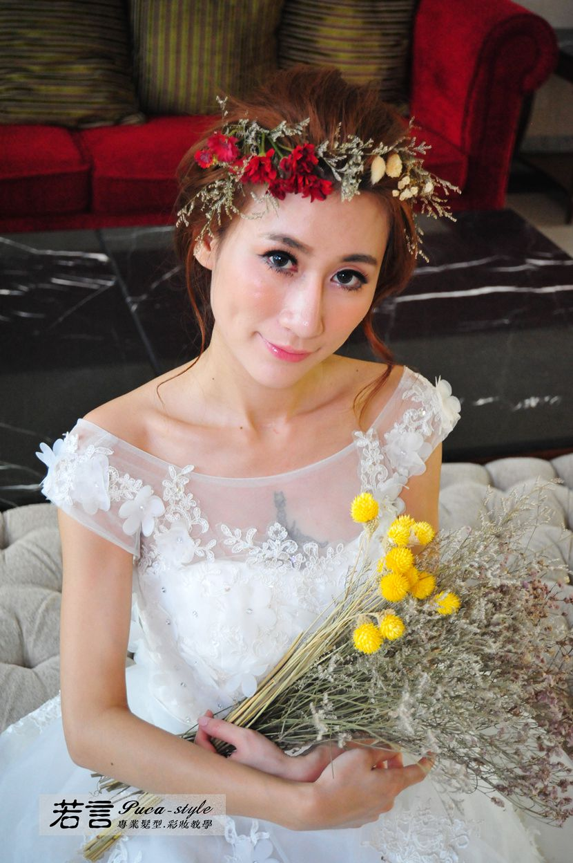 南臺灣新娘秘書韓式(噴槍)新秘團隊(編號:238549) - 若言新娘秘書韓式妝髮 - 結婚吧