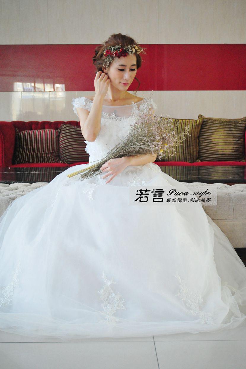 南臺灣新娘秘書韓式(噴槍)新秘團隊(編號:238550) - 若言新娘秘書韓式妝髮 - 結婚吧