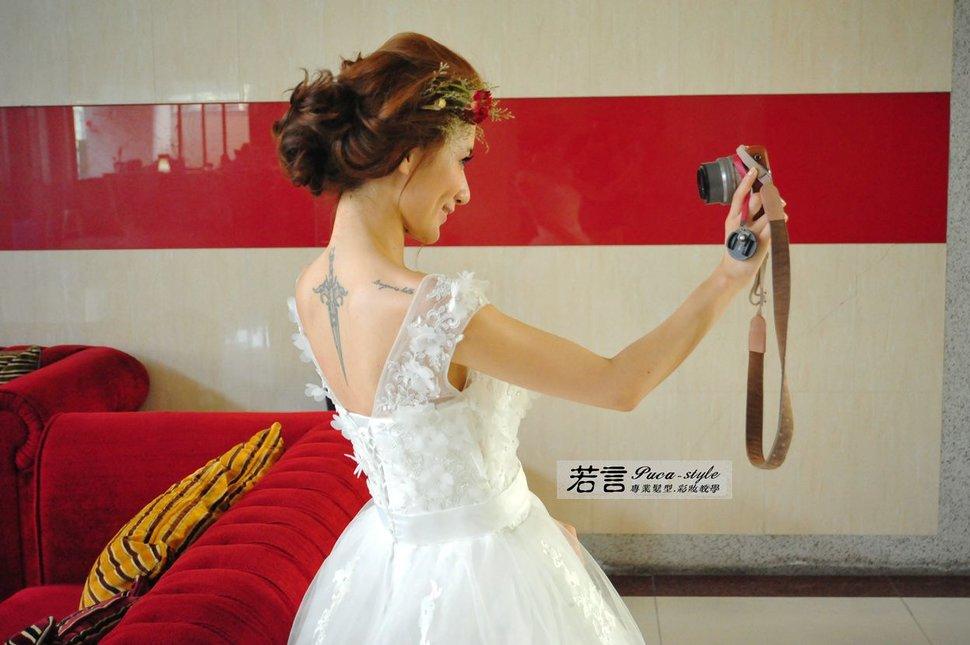 (編號:238557) - 若言新娘秘書韓式妝髮 - 結婚吧