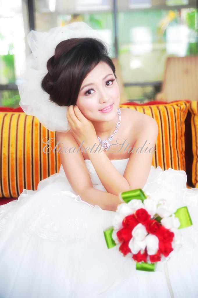 南臺灣新娘秘書韓式(噴槍)新秘團隊(編號:238561) - 若言造型團隊-噴槍底妝/陶瓷妝感 - 結婚吧