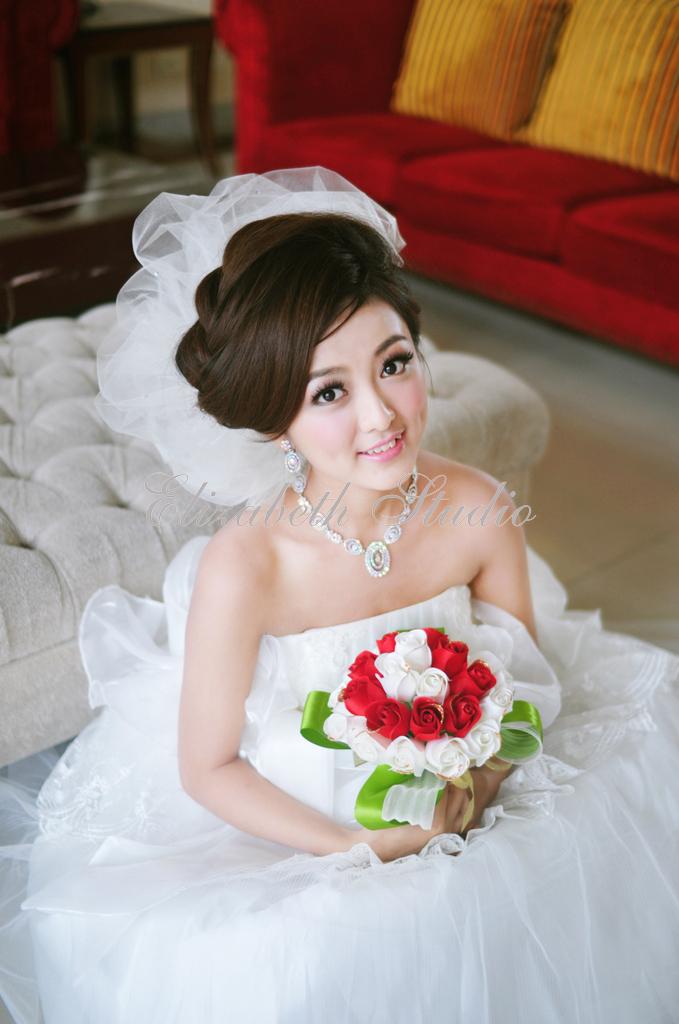 南臺灣新娘秘書韓式(噴槍)新秘團隊(編號:238569) - 若言新娘秘書韓式妝髮 - 結婚吧