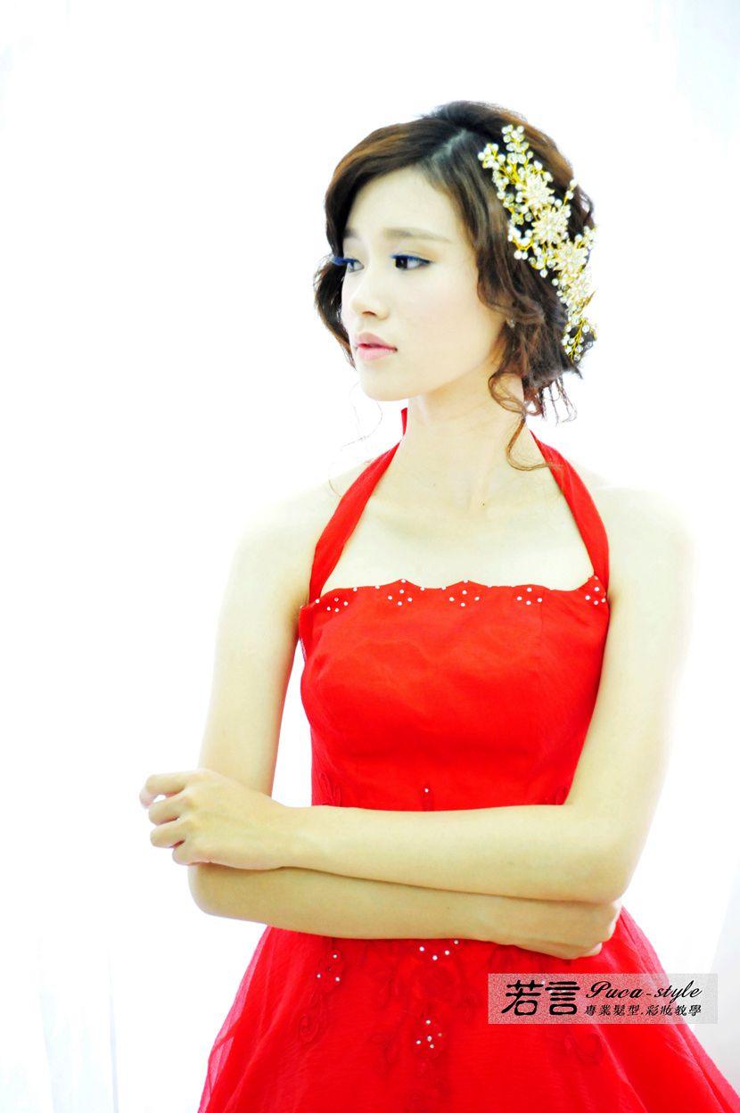 南臺灣新娘秘書韓式(噴槍)新秘團隊(編號:238570) - 若言新娘秘書韓式妝髮 - 結婚吧