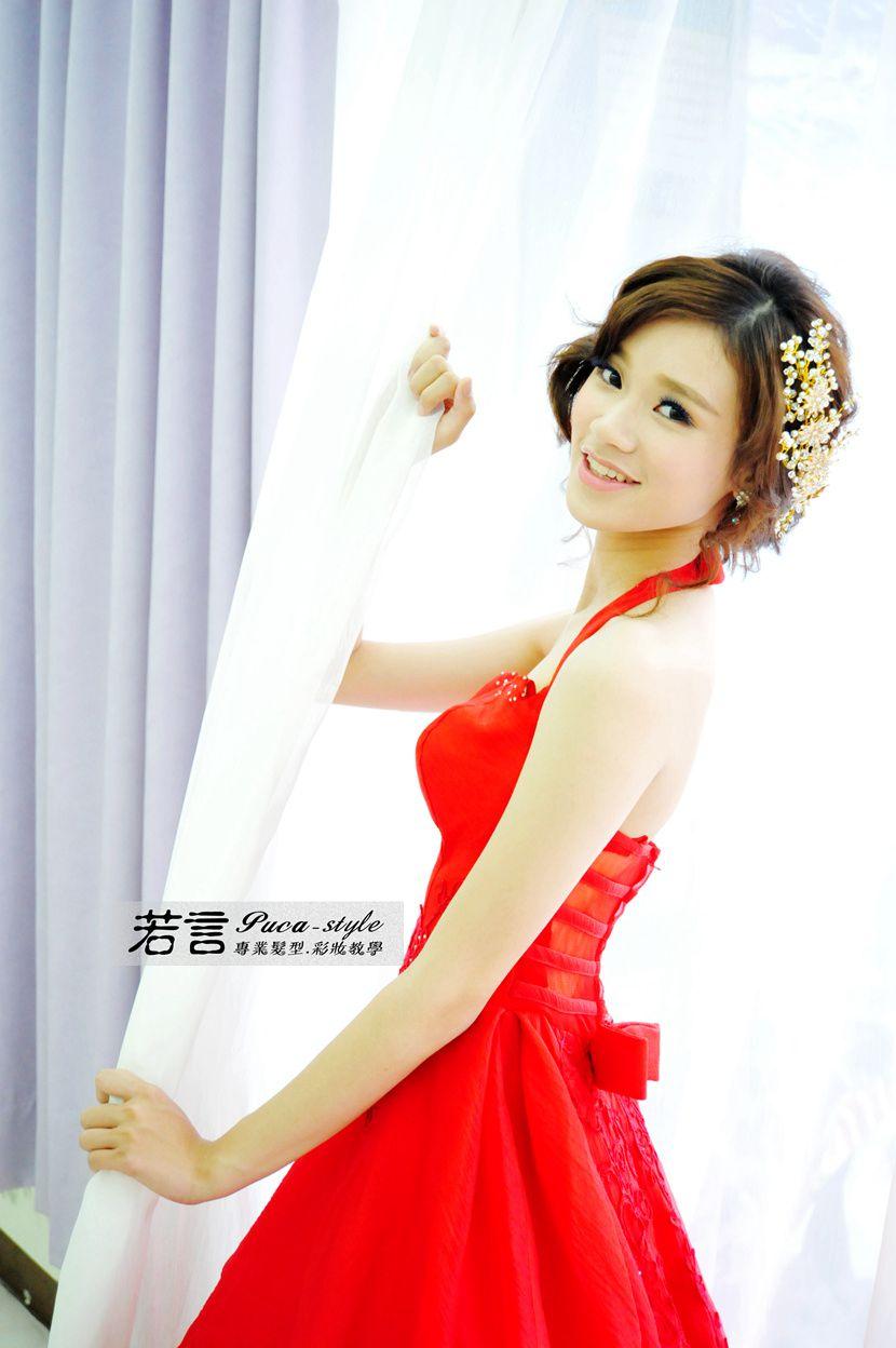 南臺灣新娘秘書韓式(噴槍)新秘團隊(編號:238571) - 若言新娘秘書韓式妝髮 - 結婚吧