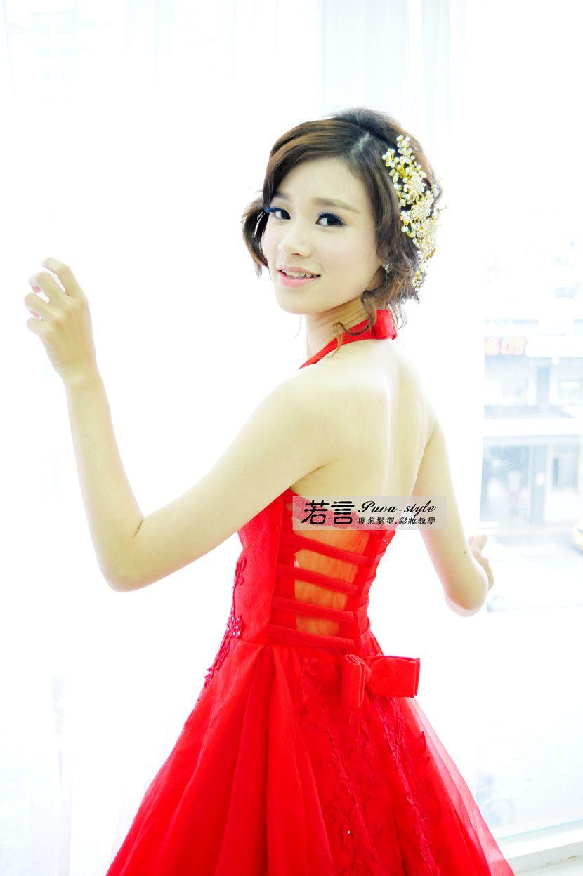 南臺灣新娘秘書韓式(噴槍)新秘團隊(編號:238575) - 若言新娘秘書韓式妝髮 - 結婚吧