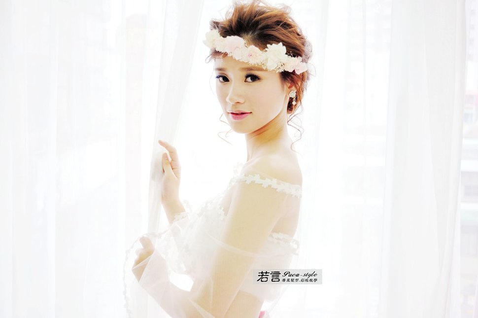 南臺灣新娘秘書韓式(噴槍)新秘團隊(編號:238577) - 若言造型團隊-噴槍底妝/陶瓷妝感 - 結婚吧