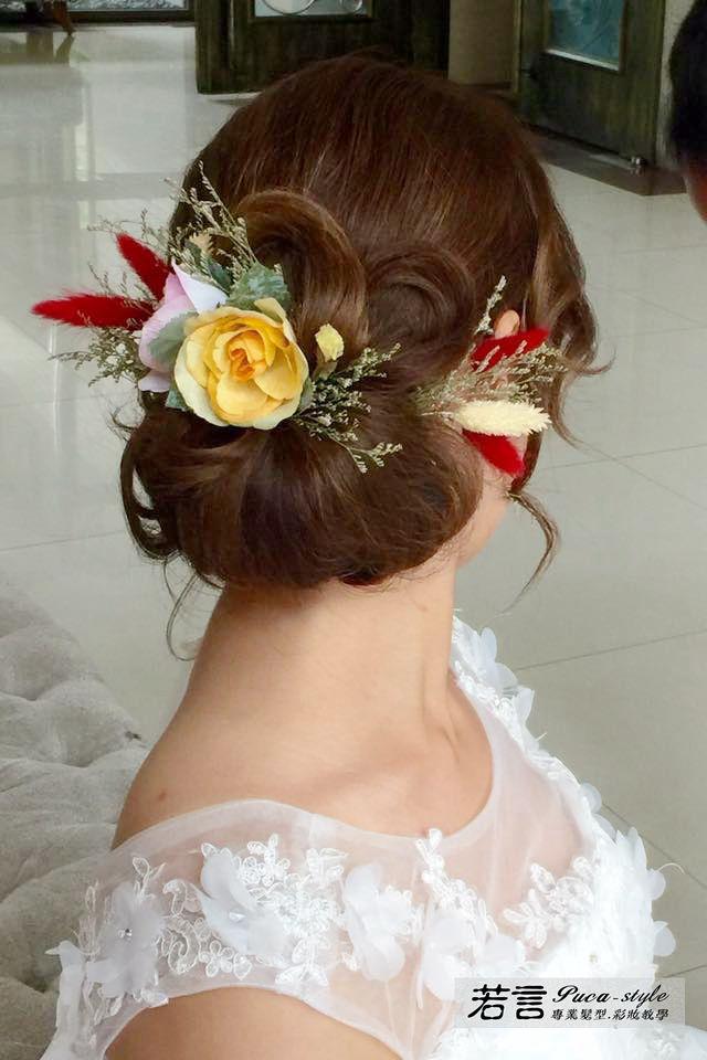 南臺灣新娘秘書韓式(噴槍)新秘團隊(編號:249220) - 若言新娘秘書韓式妝髮 - 結婚吧