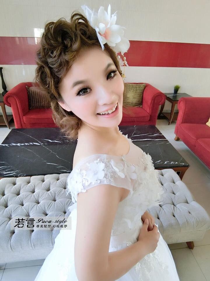 南臺灣新娘秘書韓式(噴槍)新秘團隊(編號:249231) - 若言新娘秘書韓式妝髮 - 結婚吧