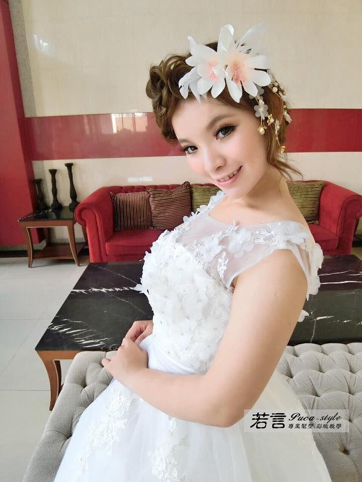 南臺灣新娘秘書韓式(噴槍)新秘團隊(編號:249232) - 若言造型團隊-噴槍底妝/陶瓷妝感 - 結婚吧