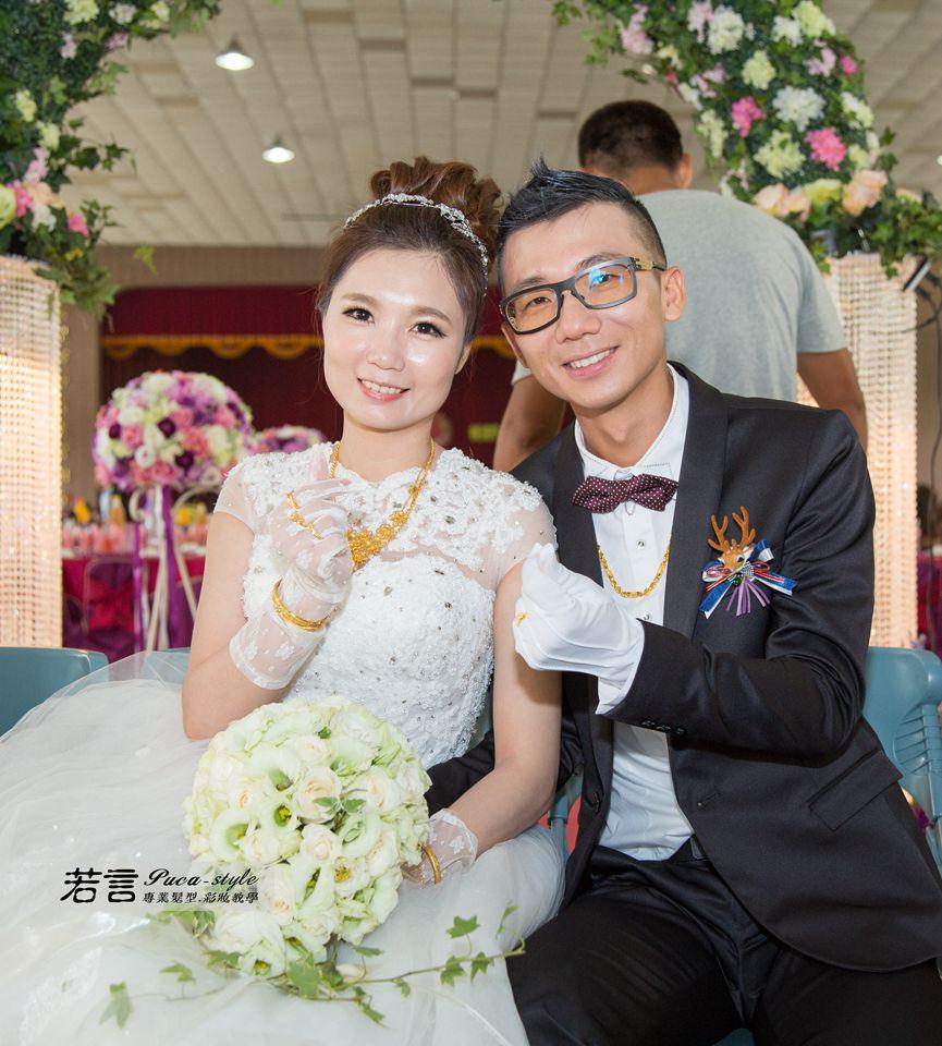 南臺灣新娘秘書韓式(噴槍)新秘團隊(編號:262752) - 若言新娘秘書韓式妝髮 - 結婚吧