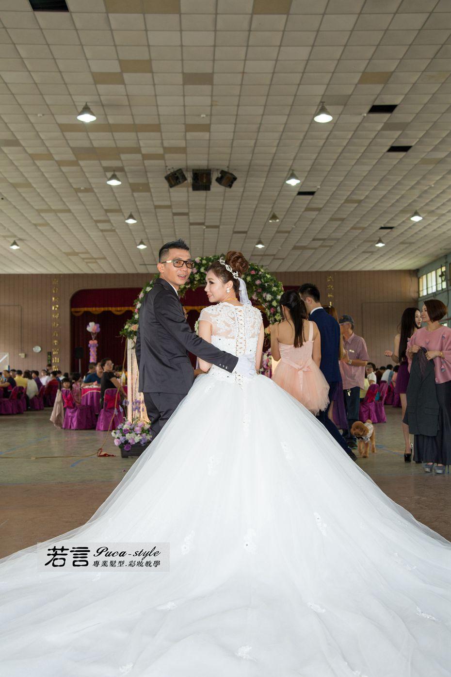南臺灣新娘秘書韓式(噴槍)新秘團隊(編號:262755) - 若言造型團隊-噴槍底妝/陶瓷妝感 - 結婚吧