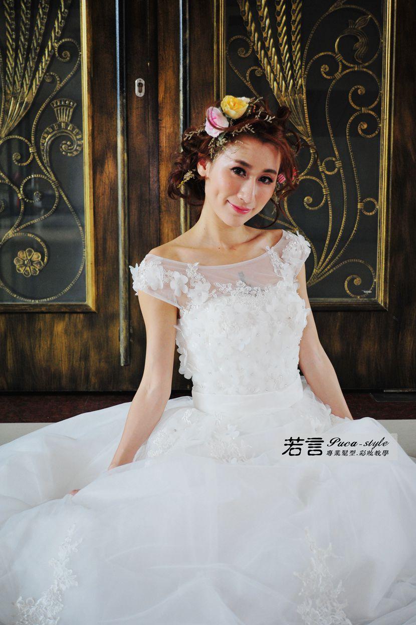 婚紗創作(編號:262838) - 若言新娘祕書韓式妝髮/新秘教學創意團隊 - 結婚吧
