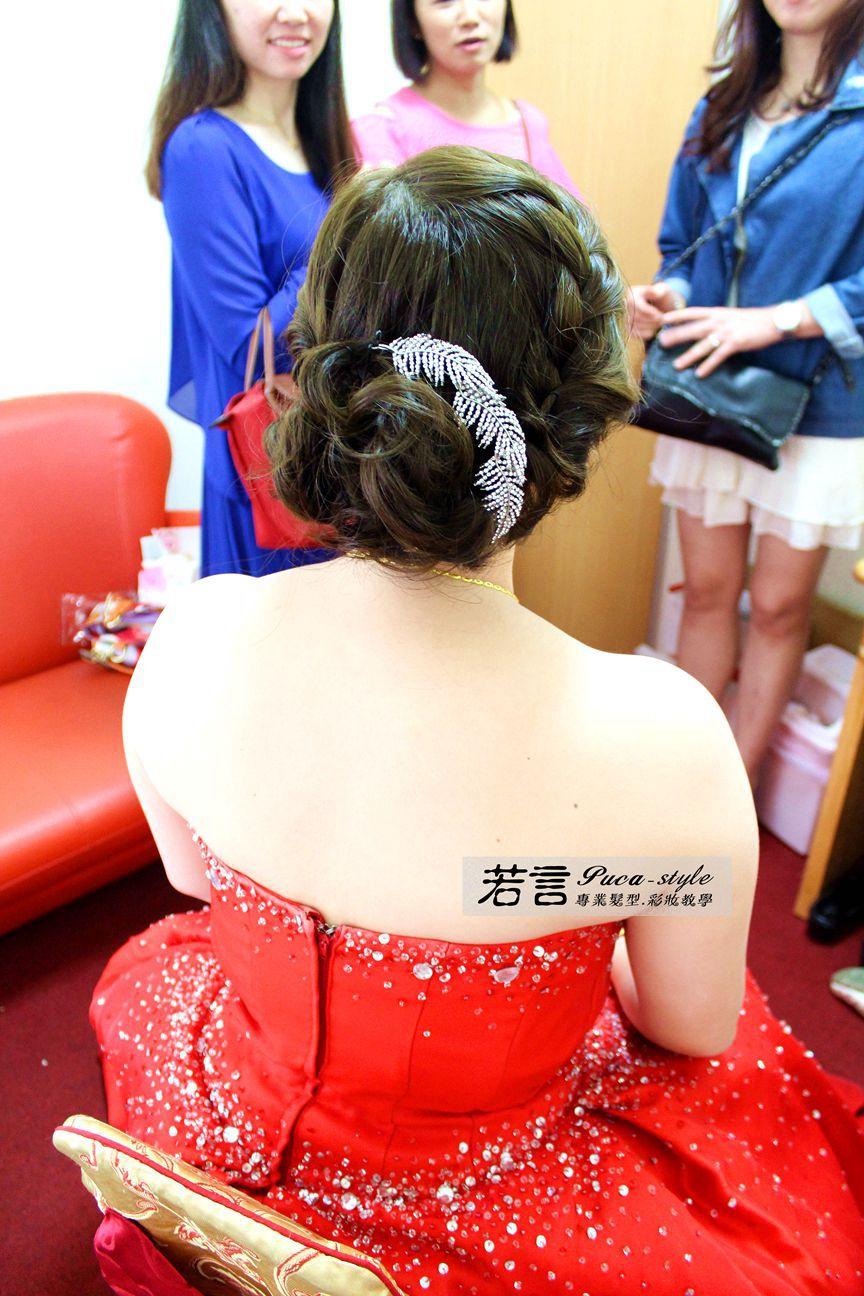 南臺灣新娘秘書韓式(噴槍)新秘團隊(編號:372599) - 若言新娘秘書韓式妝髮 - 結婚吧