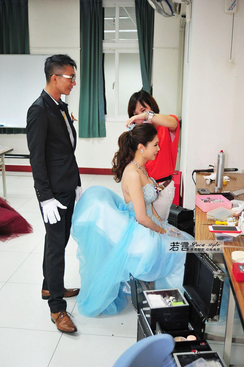 南臺灣新娘秘書韓式(噴槍)新秘團隊(編號:372612) - 若言新娘秘書韓式妝髮 - 結婚吧
