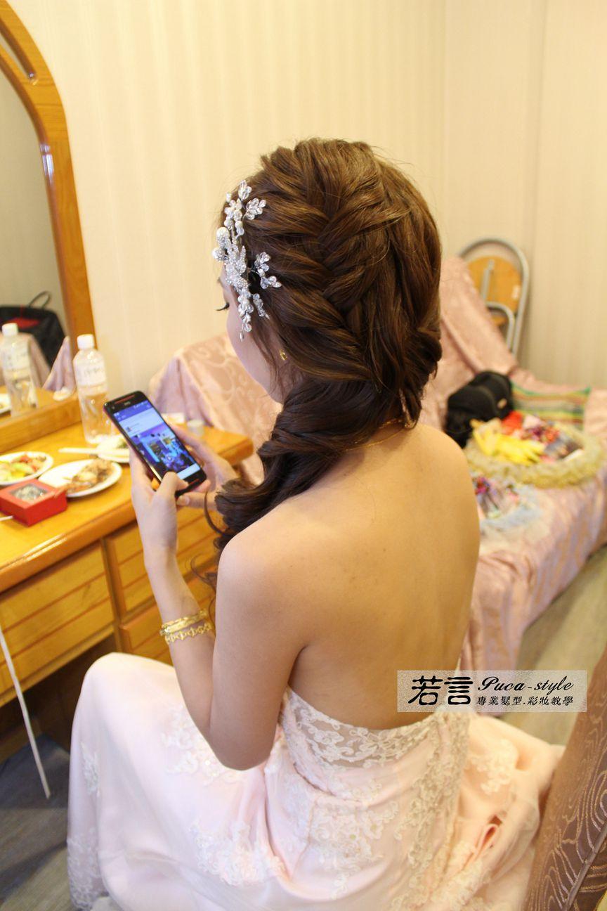 南臺灣新娘秘書韓式(噴槍)新秘團隊(編號:372626) - 若言新娘秘書韓式妝髮 - 結婚吧