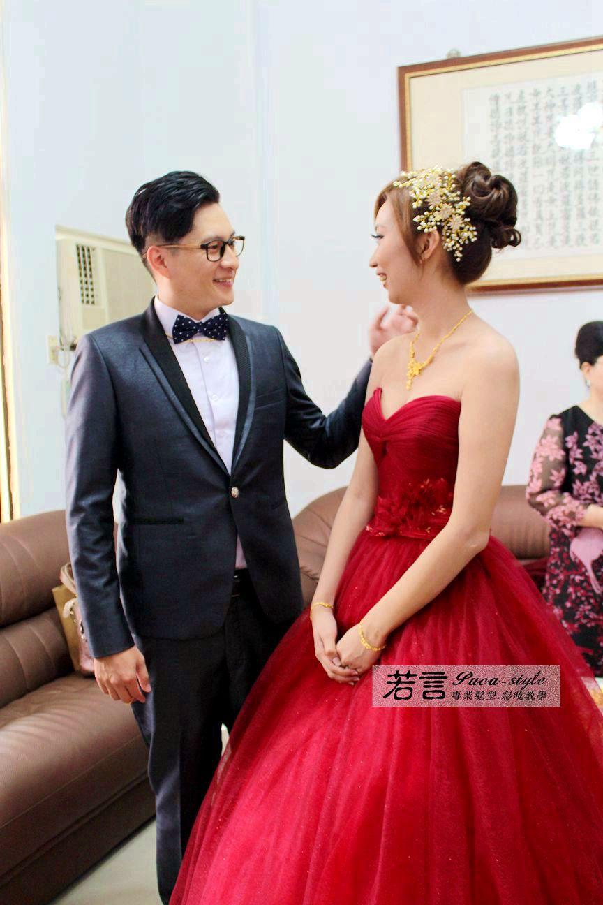 南臺灣新娘秘書韓式(噴槍)新秘團隊(編號:372633) - 若言新娘秘書韓式妝髮 - 結婚吧