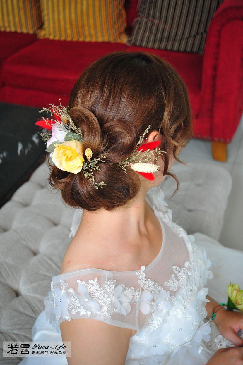 (編號:426996) - 若言新娘秘書韓式妝髮 - 結婚吧