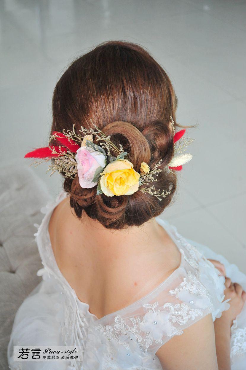 (編號:427001) - 若言新娘秘書韓式妝髮 - 結婚吧