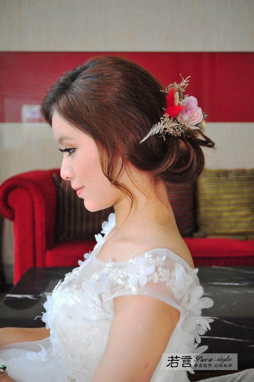 (編號:427002) - 若言新娘秘書韓式妝髮 - 結婚吧