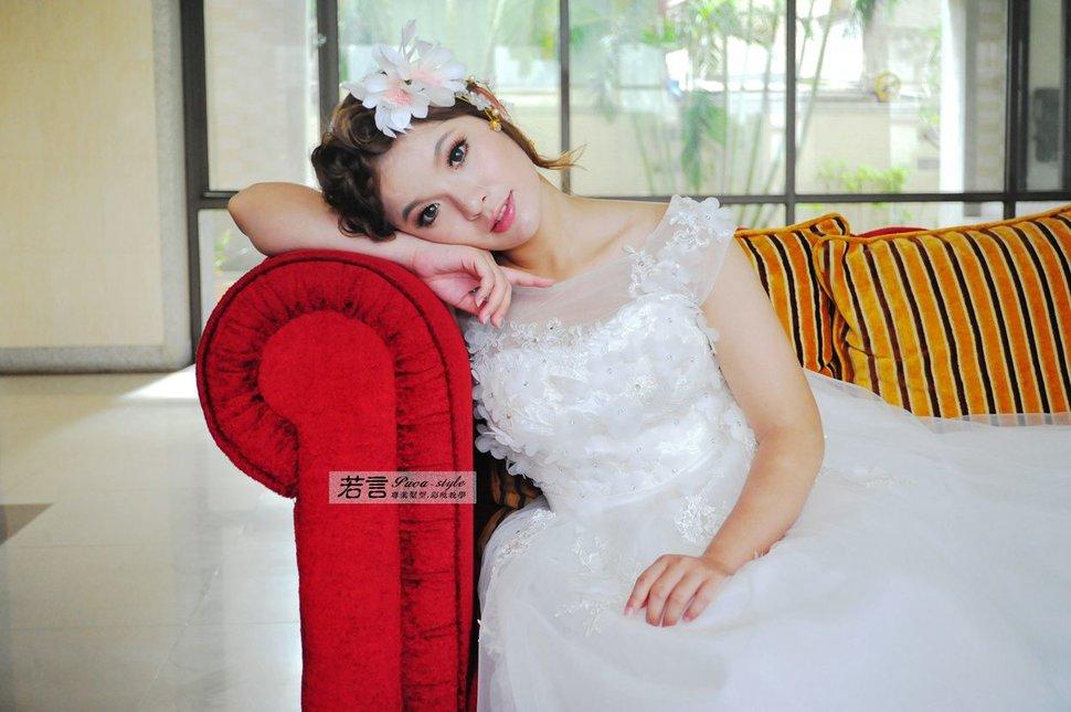 (編號:427004) - 若言新娘秘書韓式妝髮 - 結婚吧