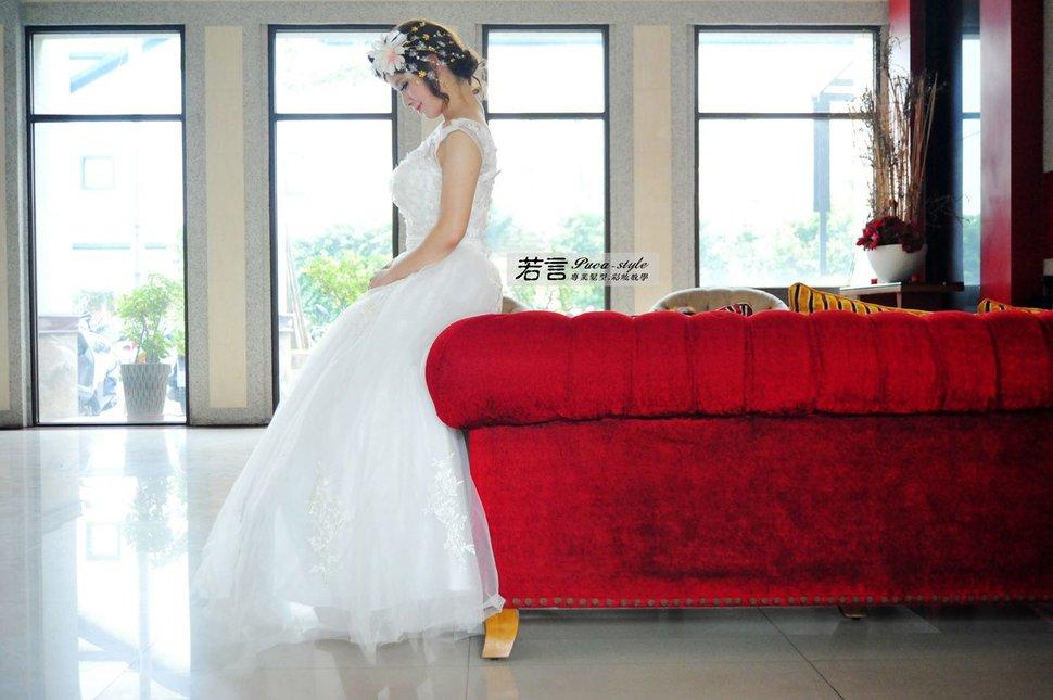 (編號:427005) - 若言新娘秘書韓式妝髮 - 結婚吧