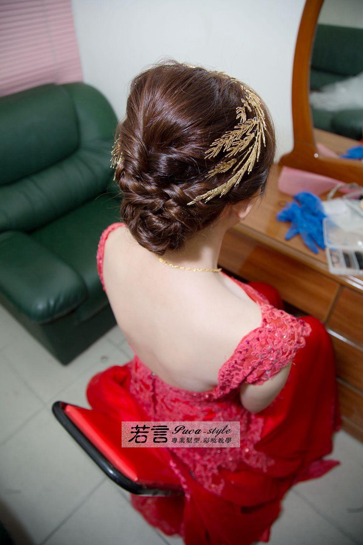 南臺灣新娘秘書韓式(噴槍)新秘團隊(編號:507527) - 若言造型團隊-噴槍底妝/陶瓷妝感 - 結婚吧