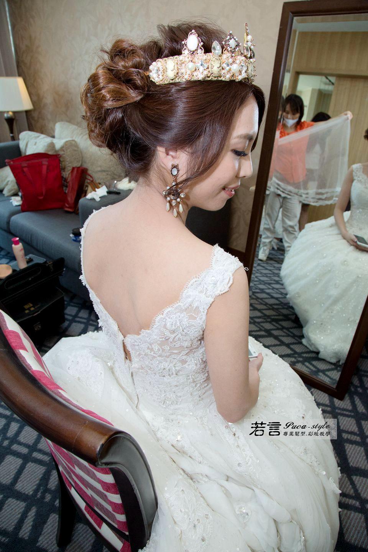 南臺灣新娘秘書韓式(噴槍)新秘團隊(編號:507542) - 若言新娘秘書韓式妝髮 - 結婚吧