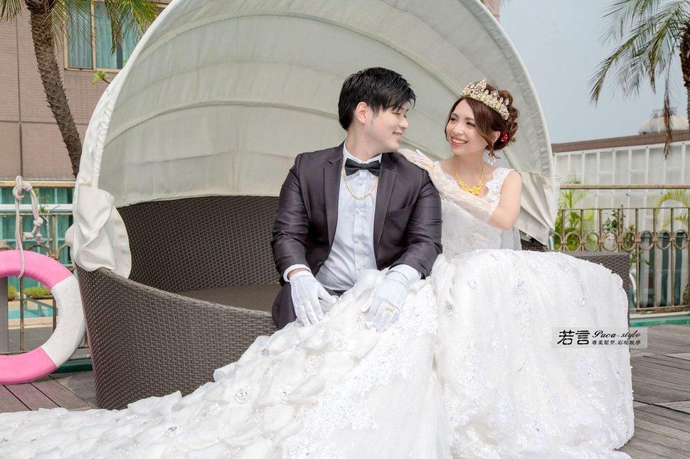 南臺灣新娘秘書韓式(噴槍)新秘團隊(編號:507543) - 若言造型團隊-噴槍底妝/陶瓷妝感 - 結婚吧