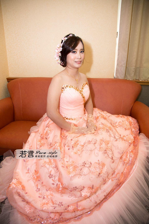 南臺灣新娘秘書韓式(噴槍)新秘團隊(編號:544952) - 若言新娘秘書韓式妝髮 - 結婚吧
