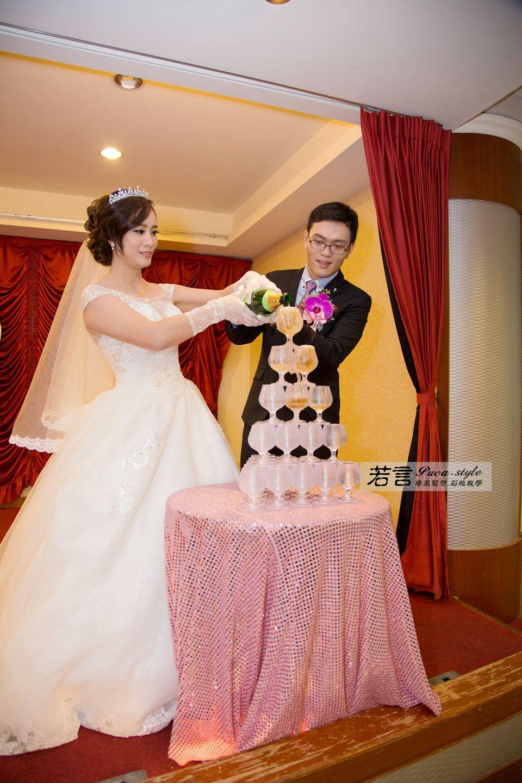 南臺灣新娘秘書韓式(噴槍)新秘團隊(編號:544954) - 若言新娘秘書韓式妝髮 - 結婚吧